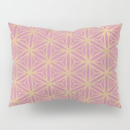Pink Geometric Pattern Pillow Sham