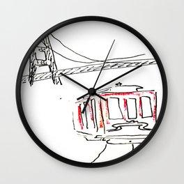 Layover in San Fran  Wall Clock