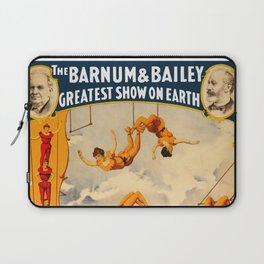 Vintage Barnum & Bailey Circus - Trapeze Laptop Sleeve