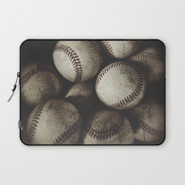 Grungy Baseballs on a Shelf Laptop Sleeve