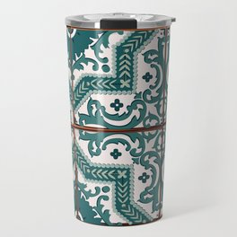 Portuguese Tile Travel Mug