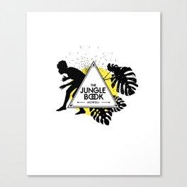 The Jungle Book - Mowgli Canvas Print