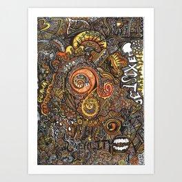 EXIST Art Print