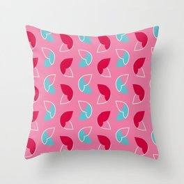 Abstract / Organic / Candy surface pattern Throw Pillow