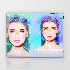 Look up into the stars and you're gone. Laptop & iPad Skin