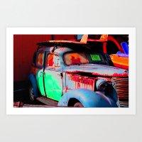 Car for sale Oahu Art Print