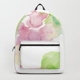 180807 Abstract Watercolour 8 | Colorful Abstract |Modern Watercolor Art Backpack