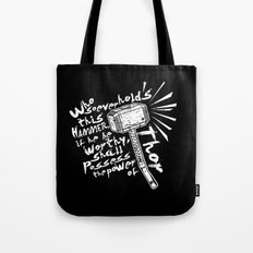 The Power of Thor Tote Bag
