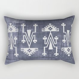 Chilean Tribal Rectangular Pillow