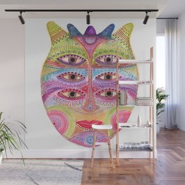 kindly expressed kind of kindness mask Wall Mural