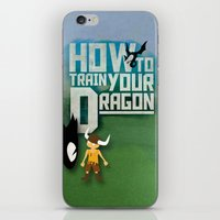 how to train your dragon iPhone & iPod Skins featuring HOW TO TRAIN YOUR DRAGON - Fantasy | Animation | Movie | Fantastic | Childer | Sci-fi by Gianluca Lucchese