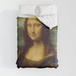 Mona Lisa - Leonardo da Vinci Comforters