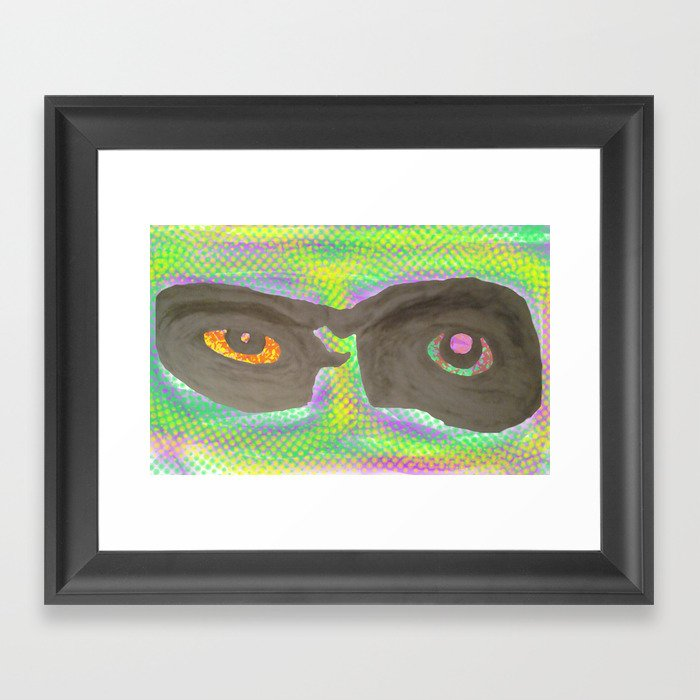 those eyes Framed Art Print
