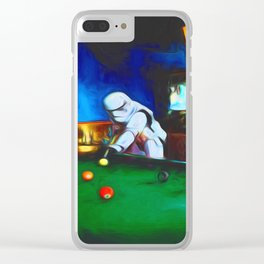 Stormtroopers On Break Clear iPhone Case