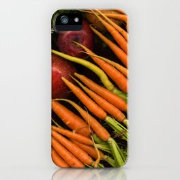 Carrots and Apples iPhone Case