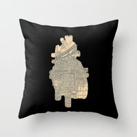 maps Throw Pillows featuring maps by yayanastasia
