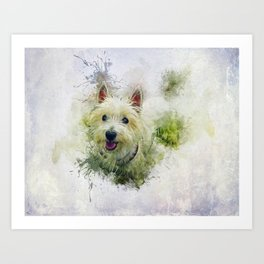 West Highland White Terrier Art Print