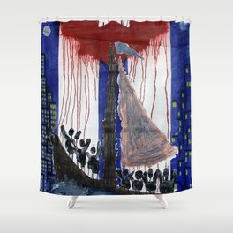 Cuba Libre Shower Curtain