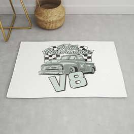 Pick up total Performance V8 Rug