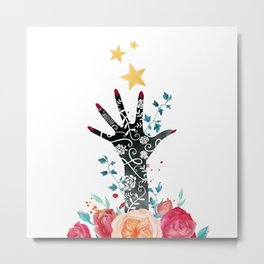 Marked Metal Print