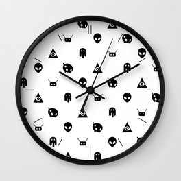 Bizarre Unknown Wall Clock