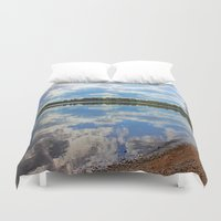 mirror Duvet Covers featuring Mirror by NaturallyJess