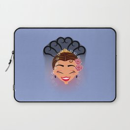 Tuti-Lady Flamenquerías/Character & Art Toy design for fun Laptop Sleeve