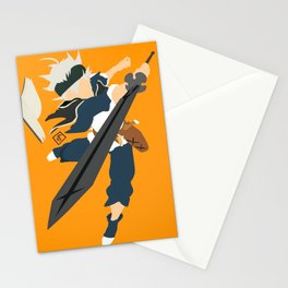 Black clover Stationery Cards