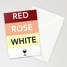 French Wines Bordeaux Bourgogne Stationery Cards