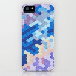 Nebula Hex iPhone Case