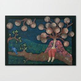 Bird (Oiseau) Canvas Print
