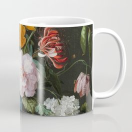 Dutch Golden Age Floral Painting Coffee Mug