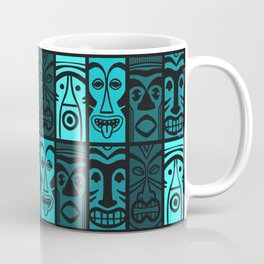 Turquoise Tikis! Coffee Mug
