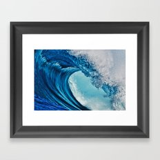 Indonesian Wavescape Framed Art Print