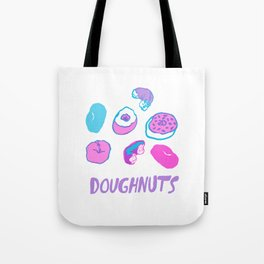 Doughnut Delish Tote Bag