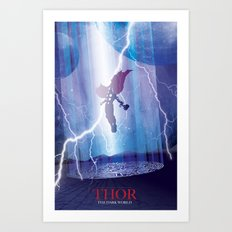 Thor - The Dark World Art Print
