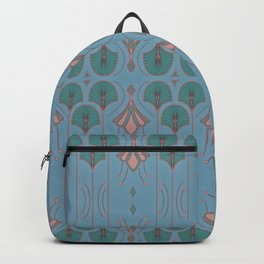 Lily Lake Blue-Gray Backpack
