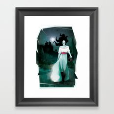 The Hatchet League - Ana  Framed Art Print