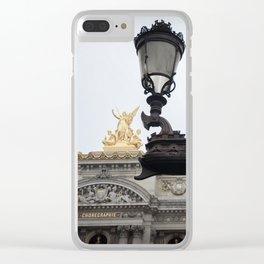 Musique Clear iPhone Case