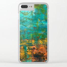 Upside down, inside out Clear iPhone Case