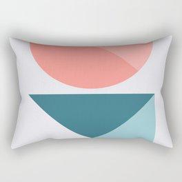 Geometric Form No.1 Rectangular Pillow