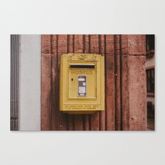 Postes Canvas Print