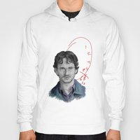 will graham Hoodies featuring Hannibal - Will Graham by firatbilal
