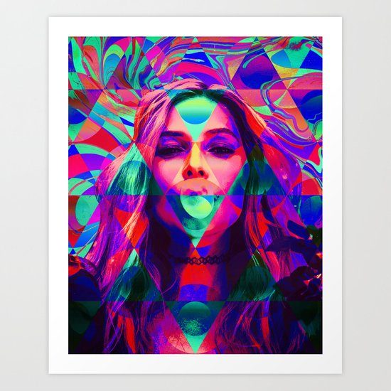 Layers of Abstraction Art Print