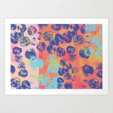 boulders2 Art Print