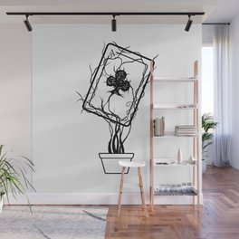Ace of Clubs Wall Mural