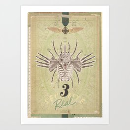3REAL Art Print