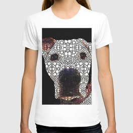 Stone Rock'd Dog 2 by Sharon Cummings T-shirt