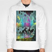 sail Hoodies featuring Rainbow Sail by BeachStudio
