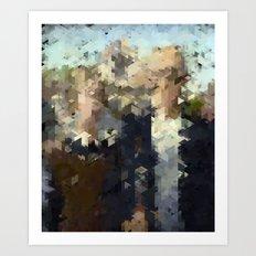 Panelscape Iconic - American Gothic Art Print